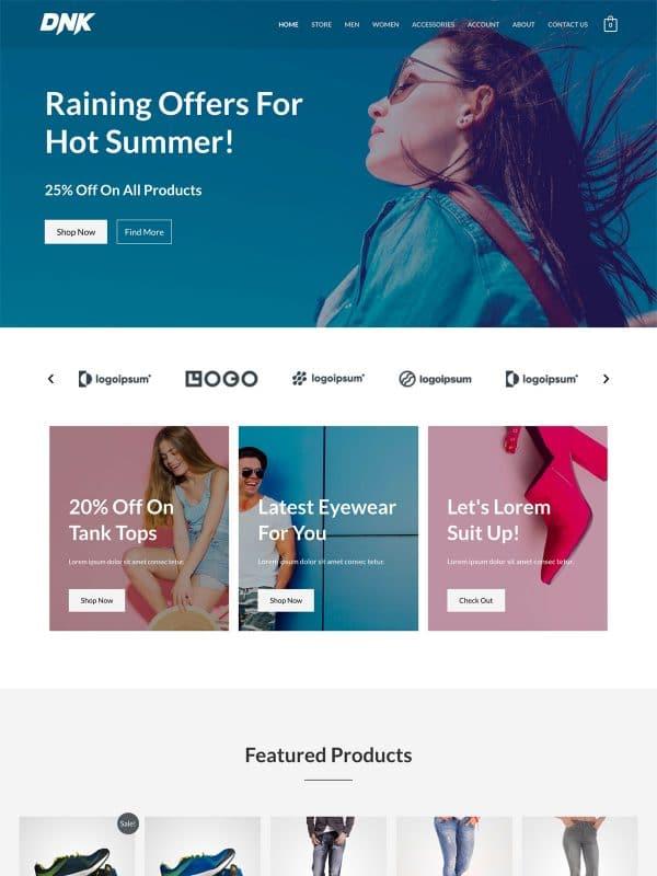 Website Toko Brand
